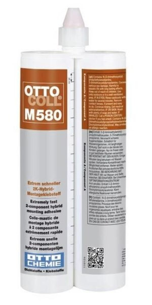 LOGO_OTTOCOLL M 580 - The extremely fast 2-component hybrid mounting adhesive