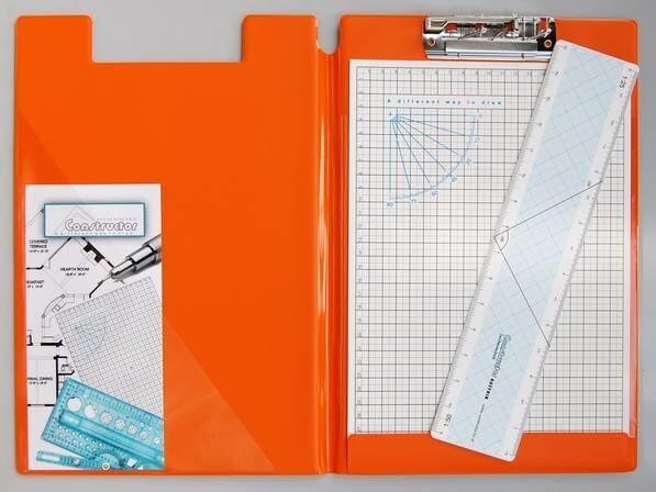 LOGO_Zeichenmappe A4 orange