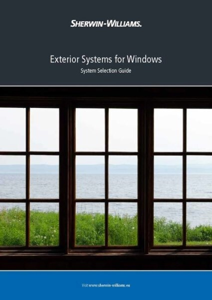 LOGO_Exterior Systems for Windows - System Selection Guide