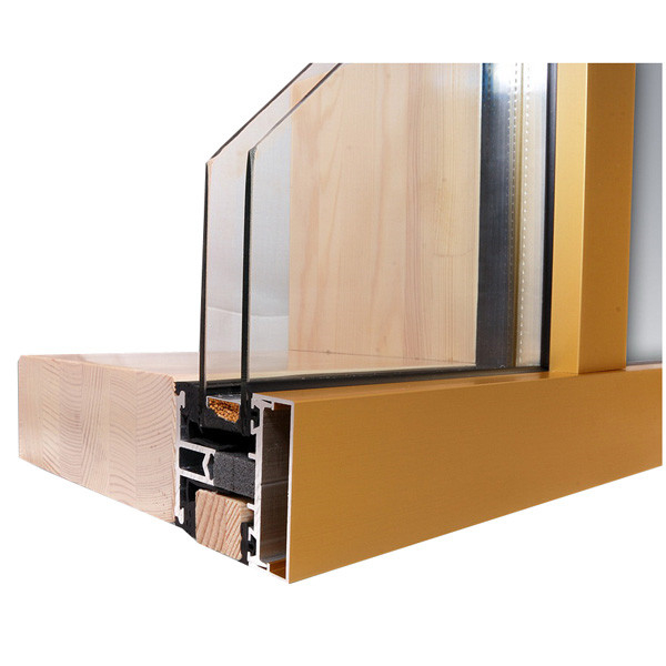 LOGO_The wooden – aluminum facades / The wooden – aluminum winter gardens system