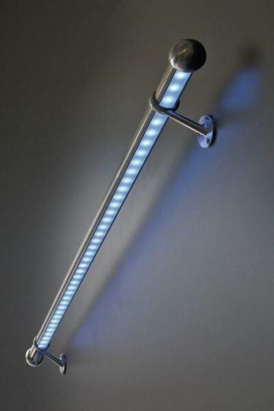 """LOGO_Wandhandlauf """"LightRail"""" mit Beleuchtung"""