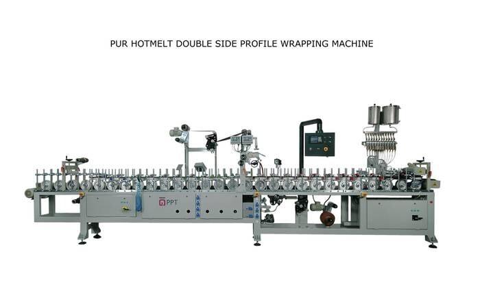 LOGO_PUR HOTMELT DOUBLE SIDE PROFILE WRAPPING MACHINE