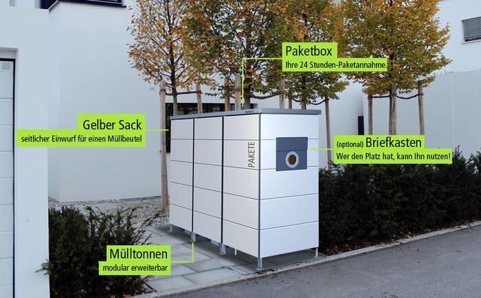 LOGO_Garten[Q]Trash with postbox