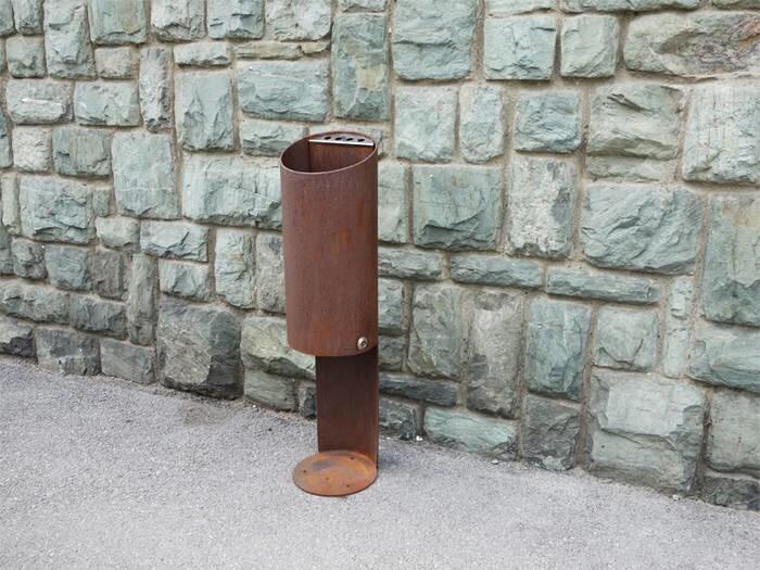 LOGO_Tubo O Open top waste bins / ashtrays