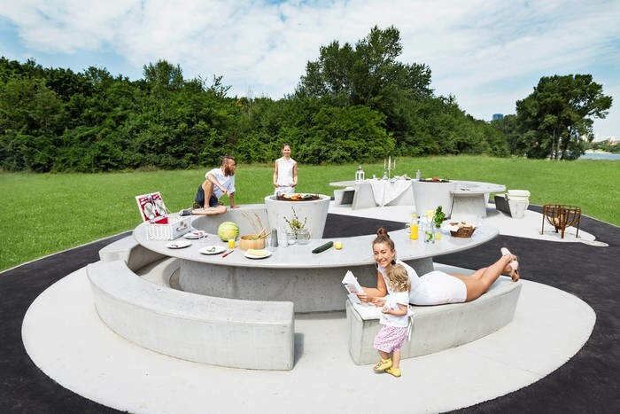 """LOGO_Barbecue edition """"Donauwelle"""""""