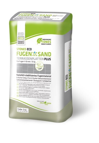 LOGO_STONES ECO FUGENSAND  1-10mm / 15 kg Papiersack