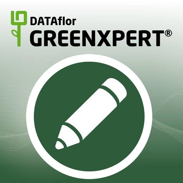 LOGO_DATAflor GREENXPERT – CAD für Landschaftsgärtner