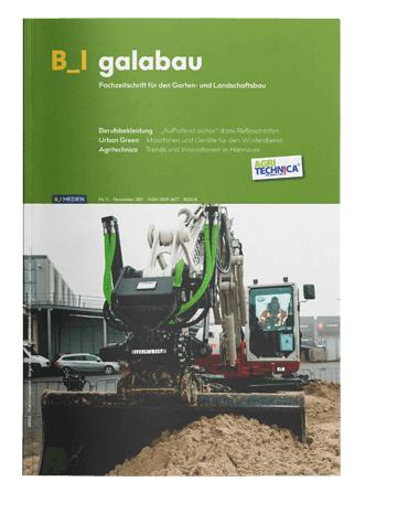 LOGO_B_I galabau – die Fachzeitschrift für den Garten- und Landschaftsbau