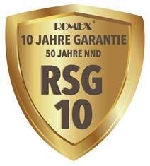 LOGO_ROMEX® - System-Garantie