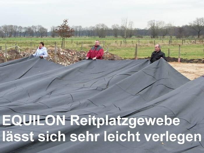 LOGO_Produkte für den Reitplatzbau - Reitplatzgewebe - Reitplatzgitter - Paddockplatten