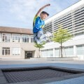 "LOGO_Outdoor and playground trampoline ""KidsTramp"""