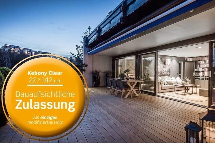 LOGO_Kebony Clear 22x142mm Terrassendiele ohne Nut