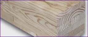 LOGO_Brettschichtholz Lärche astig... schön, stabil und pflegeleicht für den Außenbereich
