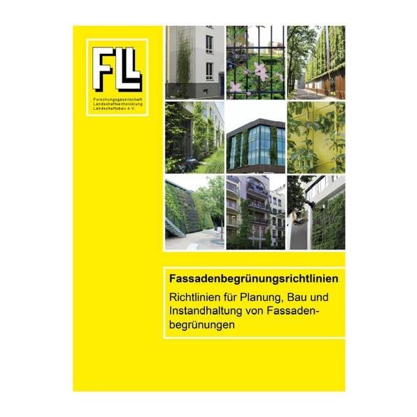 LOGO_Fassadenbegrünungsrichtlinien - Richtlinien für die Planung, Bau und Instandhaltung von Fassadenbegrünungen