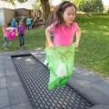 LOGO_Playground & outdoor trampoline track 'Kids Tramp Track'