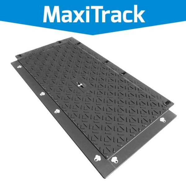LOGO_MaxiTrack · Schwerlast Fahrplatte (NEU!)