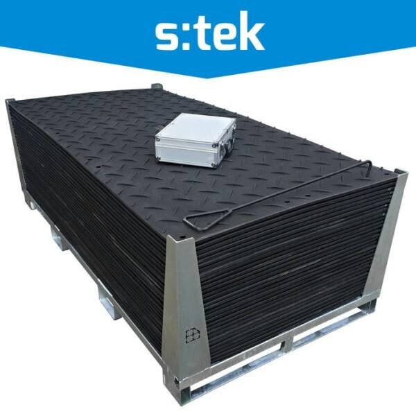 LOGO_s:tek - High Performance Ground Protection Matting
