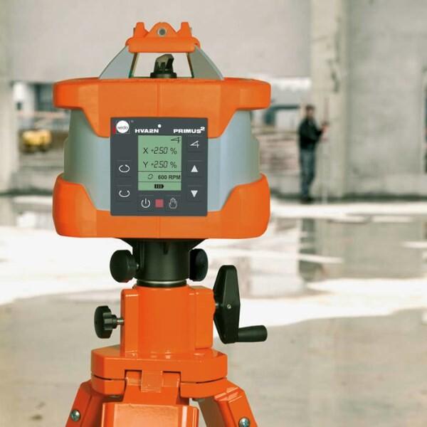 LOGO_Fully automatic horizontal/vertical dual slope laser Nedo Primus² HVA2N