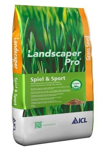 LOGO_Landscaper Pro Spiel & Sport: Eine spezielle Auswahl hochwertiger Gräsersorten aus dem ICL Profi-Sortiment