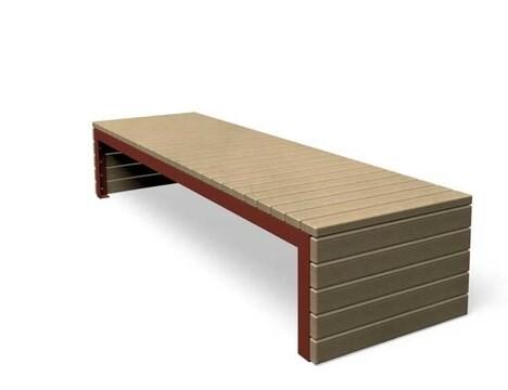 "LOGO_Wooden bench ""Woodoo"""