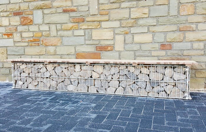 LOGO_Outdoor-Möbel: arcadia Pergone® Sitzbank
