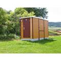 LOGO_Toilettenanlage L 380 S mit Tanksystem für Damen und Herren