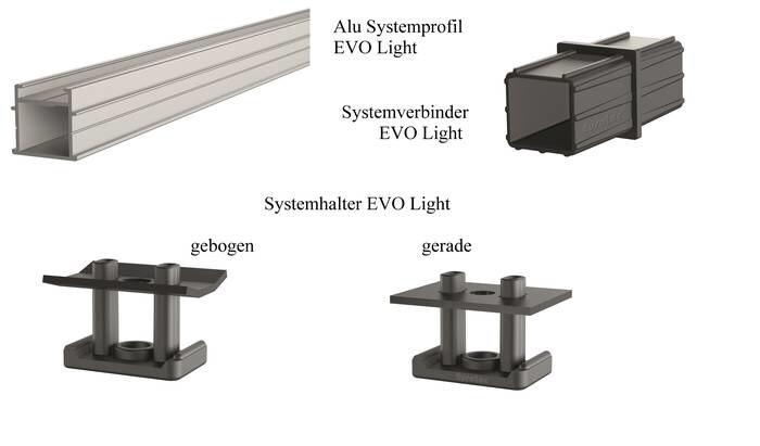 LOGO_Alu-Systemprofil EVO Light und Systemverbinder EVO Light