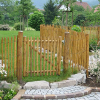 LOGO_Gartentür aus Edelkastanie