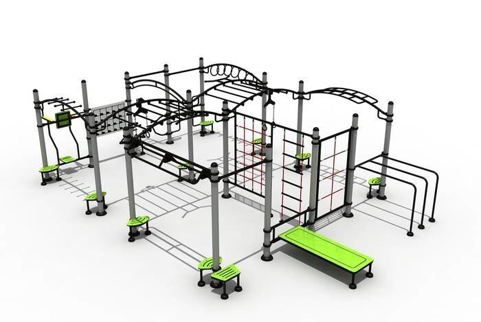 LOGO_Outdoor Fitness Body Strength Training Gym Equipment