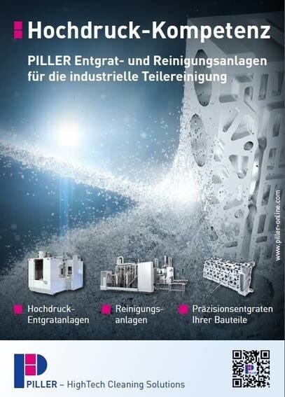 LOGO_PILLER High-pressure deburring machines for industrial parts (Catalog 2/2)