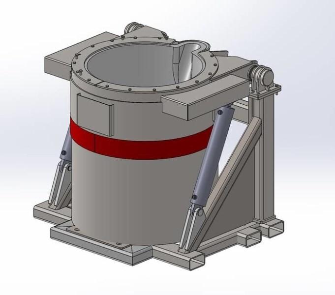 LOGO_Hydraulic tilting transfer/transport ladle