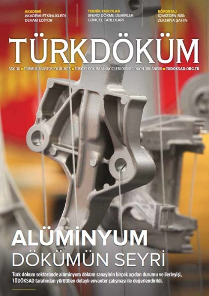 "LOGO_Türkdöküm ""The Official Quarterly Magazine of TÜDÖKSAD - Turkish Foundry Association"""