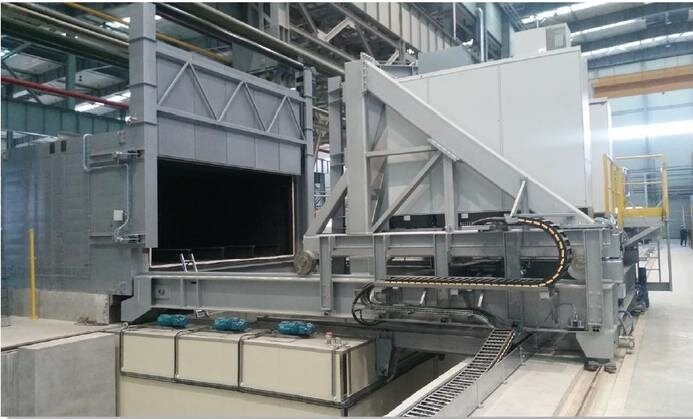 LOGO_Horizontal quenching furnace with polyvalent conveyor