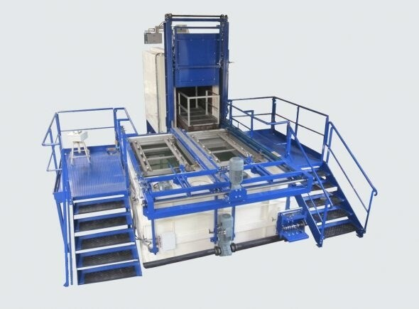 LOGO_Movable quenching furnace with 2 water tanks