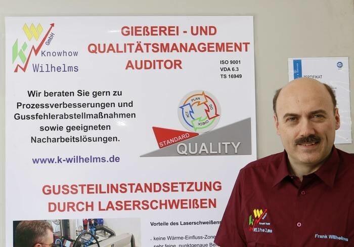 LOGO_Qualitätsmanagement u. Gießereiberatung (VDA6.3 u. IATF16949 Auditor)