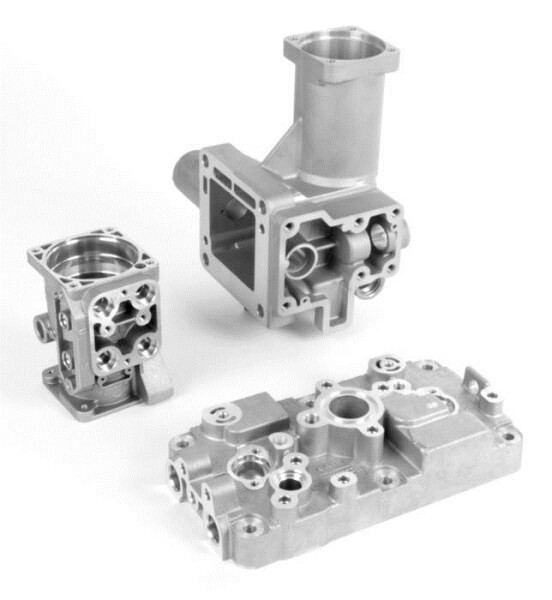 LOGO_Brake system housing, servo gear, cylinder head