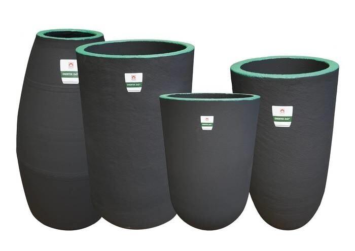 LOGO_ENERTEK* Premium crucibles for non-ferrous applications