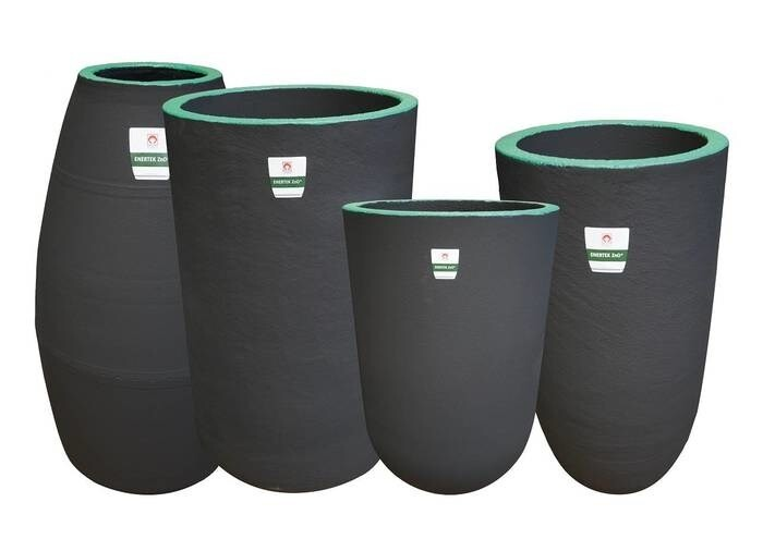LOGO_ENERTEK* Premium crucibles for non-ferrous applications