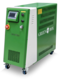LOGO_GreenJet - Temperature control unit which delivers high pressure water jets to cool circuits.