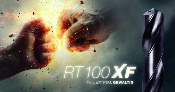 LOGO_RT 100 XF New. Extreme. Powerful.