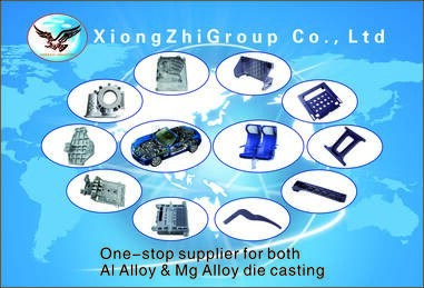 LOGO_one-Stop supplier for both Al Alloy & Mg Alloy die casting