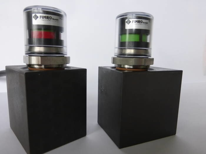 LOGO_contamination indicator specially designed for filters of temperature control units