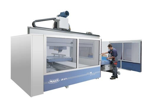 LOGO_MAKA CR 27 - precise CNC machining with high cutting forces