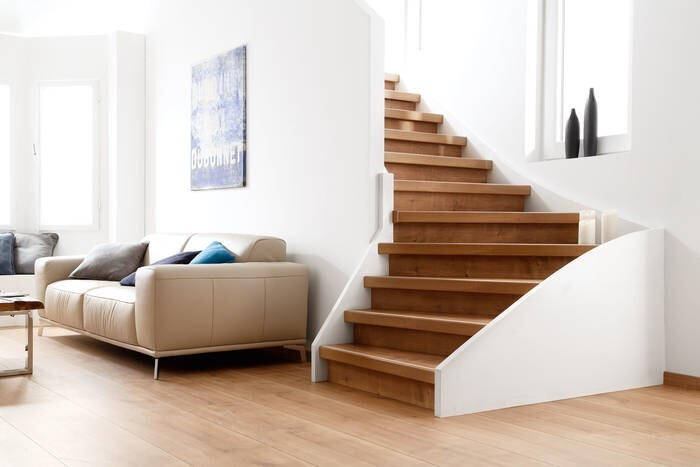 LOGO_moderna treppe - a system for all staircases in both old and new buildings