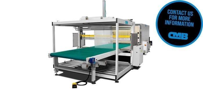 LOGO_ERB · Shrink Wrapping Machine