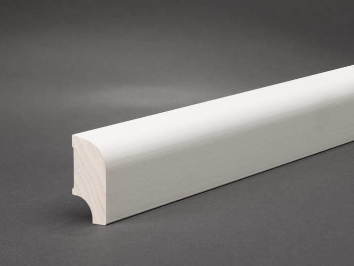 LOGO_Profile 109 skirting board with rounded top edge