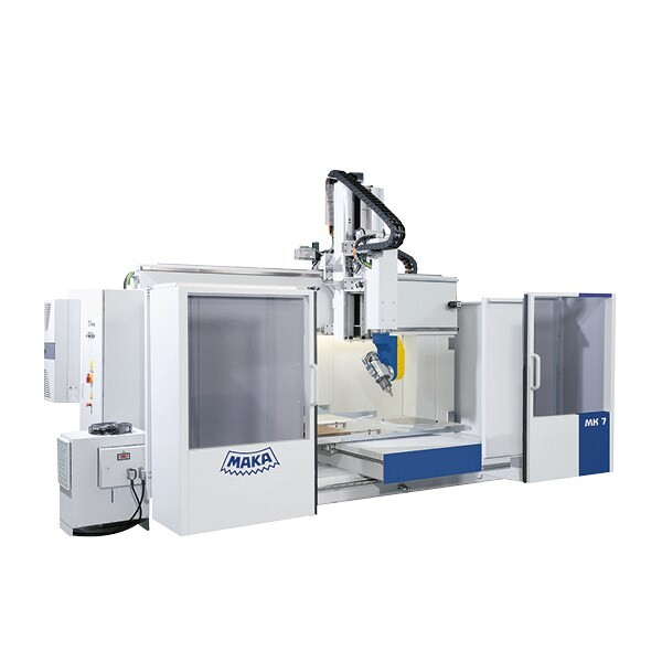 LOGO_MAKA MK 7: Globally successful CNC all-rounder