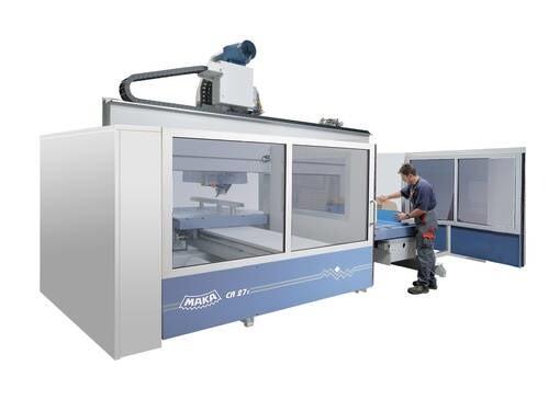 LOGO_MAKA CR 27 - precise CNC machining with high cutting forces