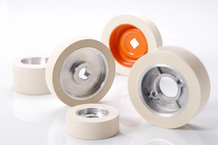 LOGO_Rubber rollers and wheel  for woodworking machines