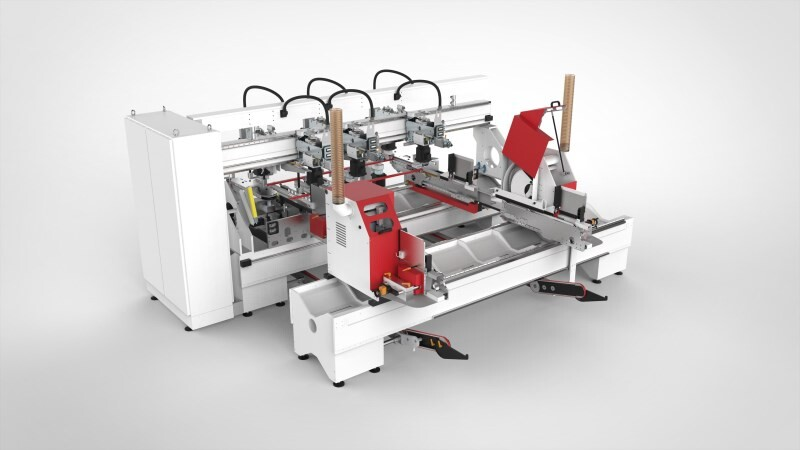 LOGO_UNIDRILL select.line - Modular drilling machine for 6-sided processing